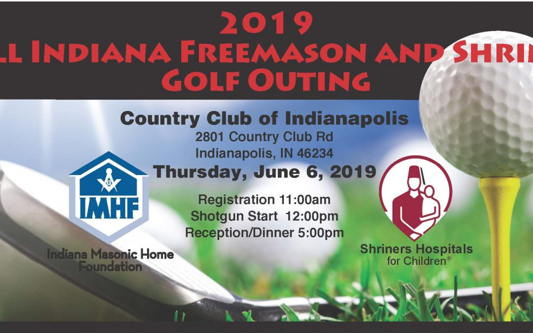 2019 All Indiana Freemason and Shrine Golf Outing